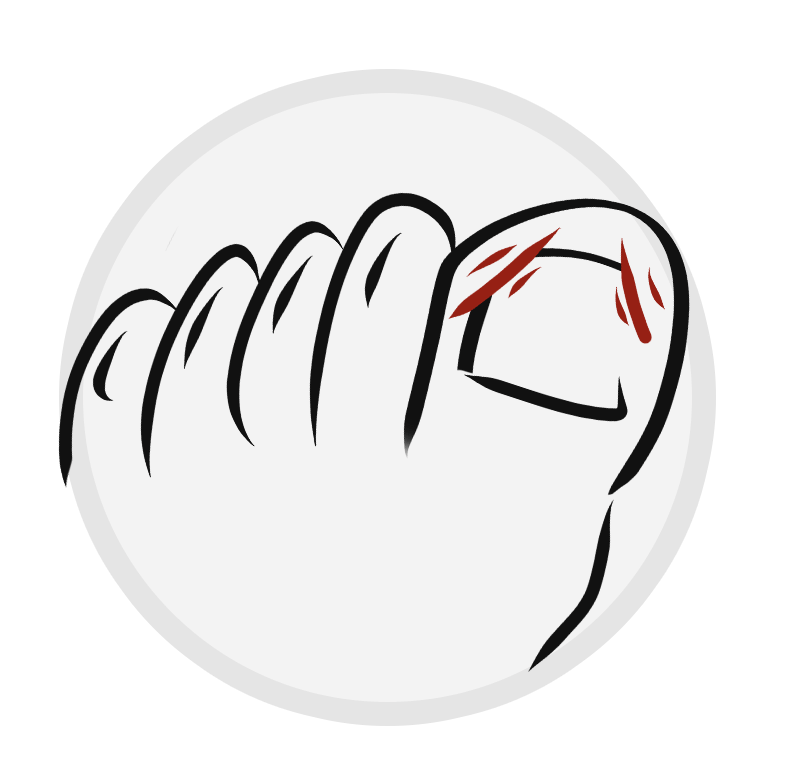 Ingrown Toe Nails Icon