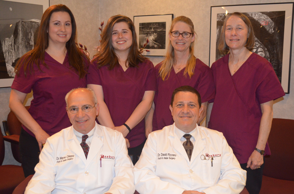 Roxbury Foot Ankle Staff - Chieppa & Pizzano